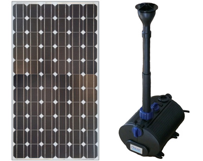 solar teichpumpenset oase aquarius 700 power www. Black Bedroom Furniture Sets. Home Design Ideas