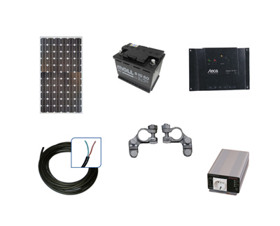 inselsolaranlage gartensolarset mallorca 350 watt www solarmodul photovoltaik com. Black Bedroom Furniture Sets. Home Design Ideas
