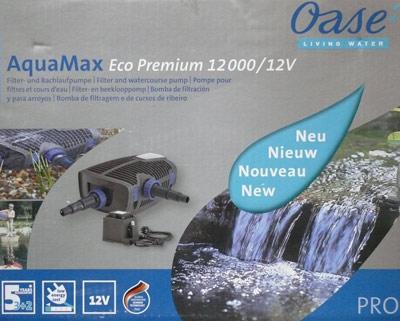 solarteichpumpe oase aquamax 12000 eco premium 12 volt www solarmodul photovoltaik com. Black Bedroom Furniture Sets. Home Design Ideas