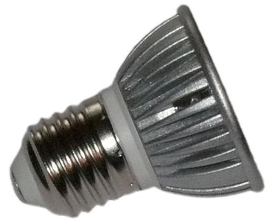 12 volt dc led lampe 3x1 watt e27 geriffelte scheiben. Black Bedroom Furniture Sets. Home Design Ideas